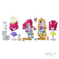 "Игрушка Hasbro Мини-кукла Equestria Girls  Пинки Пай ""Девушки Эквестрии"" Пижамная вечеринка - Салон красоты (B8824)"