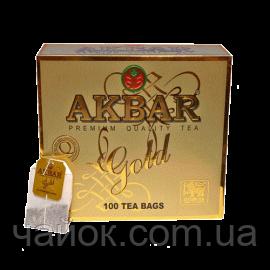 Чай Акbаr Gold 100 пакетов