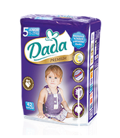 Подгузники Dada Premium 5 JUNIOR (15-25 кг) 42 шт.