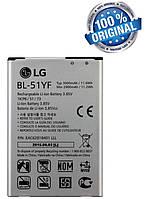 Аккумулятор батарея BL-51YF для LG G4 H815 H818 / G4 Stylus / Ray X190 оригинальный