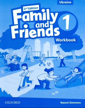 Family and Friends 1 Second Edition Workbook for Ukraine