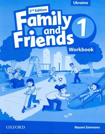 Family and Friends 1 Second Edition Workbook for Ukraine, фото 2