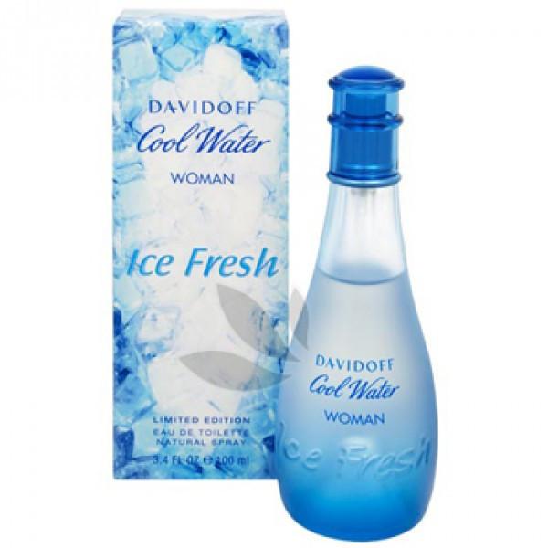 Davidoff Cool Water Women Ice Fresh EDT 125 ml (лиц.)