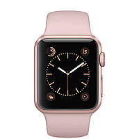 Apple Watch Series 2 Sport 38mm Rose Case with Pink Sand Sport Band (MNNY2) Gold Aluminium