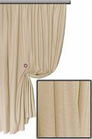 Водоотталкивающяя ткань  Тефлон однотонный песочный 06, высота  1.8 м