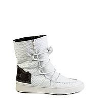 Женские ботинки зимние Encanto 0055 бел.