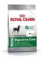 Royal Canin MINI DIGESTIVE CARE - корм для собак мелких пород с чувствительным пищеварением, 2кг