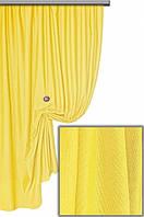 Водоотталкивающая ткань  Тефлон однотонный желтый 07, высота  1.8 м