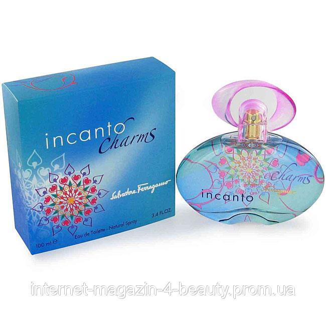 Женская туалетная вода Salvatore Ferragamo Incanto Charms EDT 100 ml
