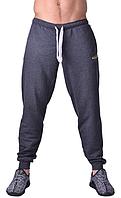 Мужские спортивные штаны утепленные с начесом серые