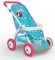 Прогулочная коляска для кукол Frozen Smoby с корзиной (254045)