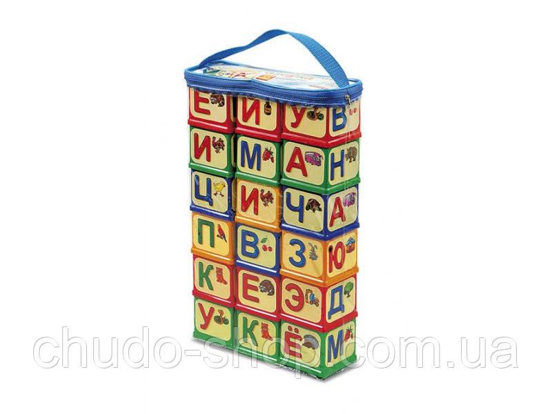 """Кубики """"Азбука""""рос. 0620 Юніка"""
