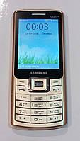 """Мобильный телефон с большим экраном 2.8"""" SAMSUNG C5212+ (Darago) шампань"""