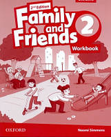 Рабочая тетрадь Family and Friends 2 Second Edition Workbook for Ukraine