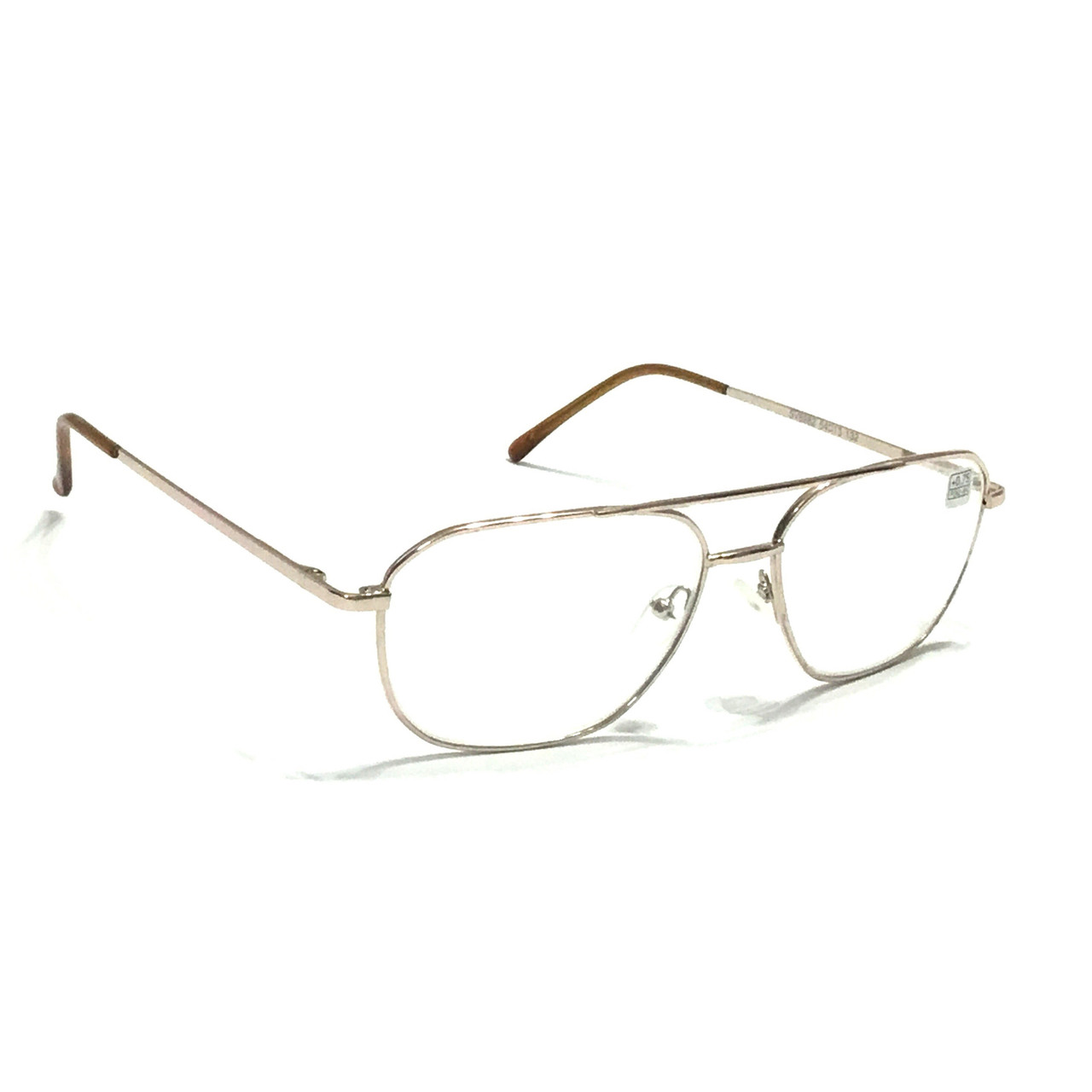 Мужские очки с белым стеклом