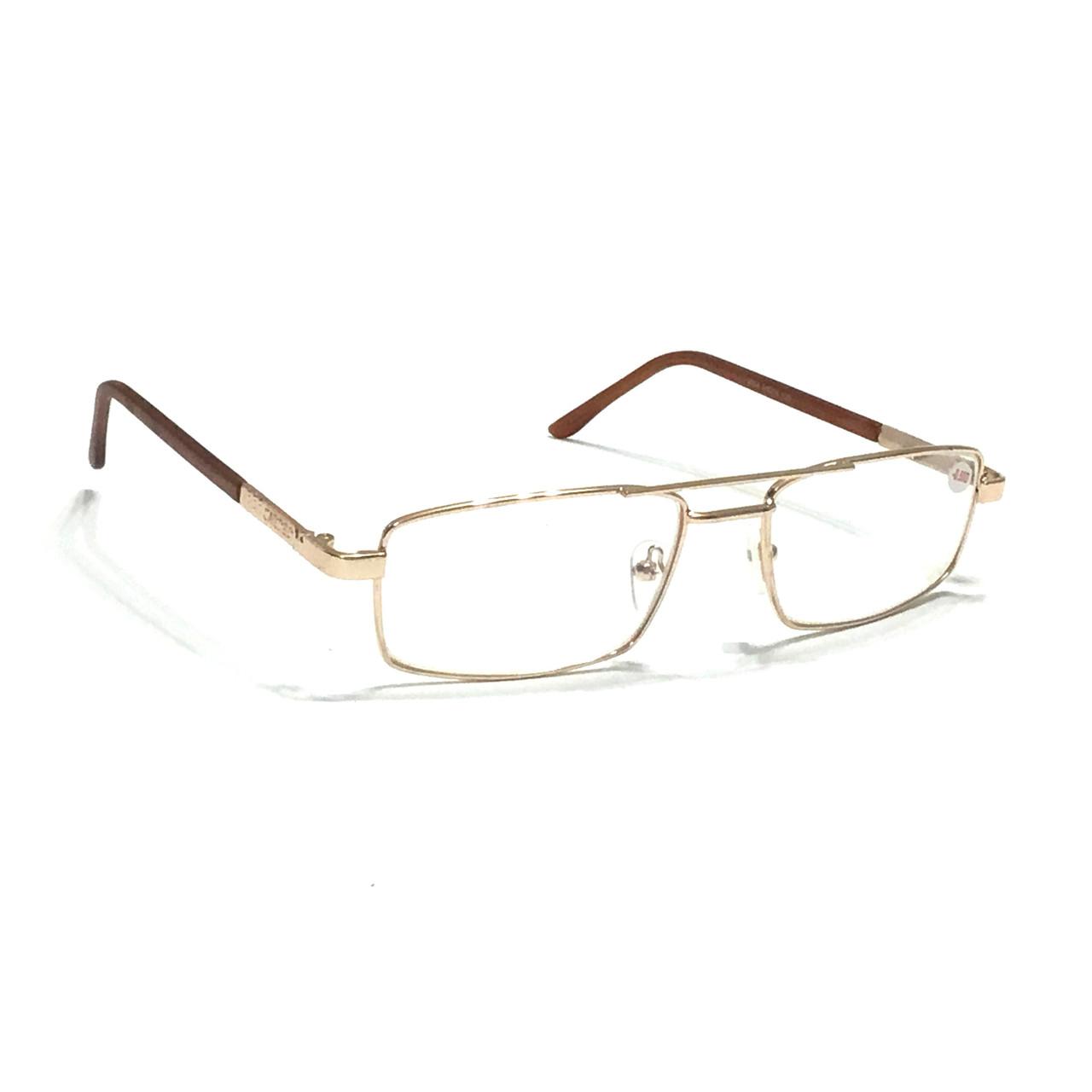 Мужские очки с белой линзой минус