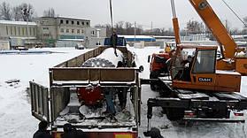 Произведен капитальный ремонт и отгрузка шаровой мельницы СМ-1456 на один из цементных заводов Украины 1