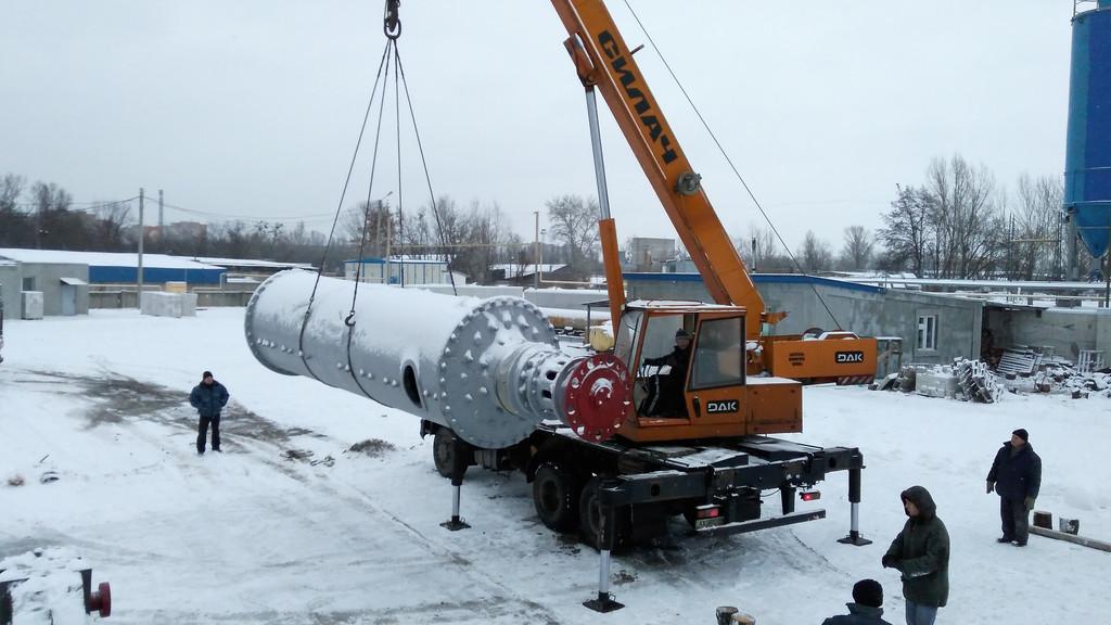 Произведен капитальный ремонт и отгрузка шаровой мельницы СМ-1456 на один из цементных заводов Украины