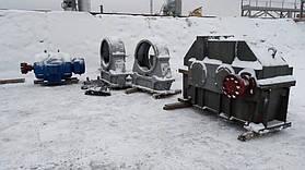 Произведен капитальный ремонт и отгрузка шаровой мельницы СМ-1456 на один из цементных заводов Украины 11