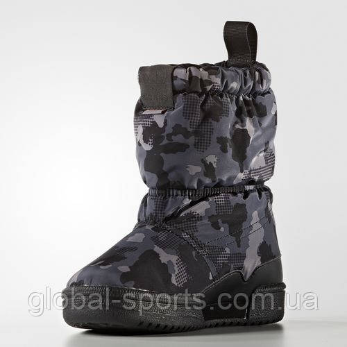 Детские зимние сапоги adidas Slip On C (АРТИКУЛ:S76119)