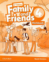 Family and Friends 4 Second Edition Workbook