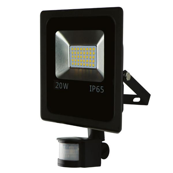 Прожектор світлодіодний LITEJET SL-20S 6500 smd з датчиком руху