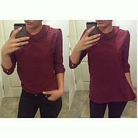 Рубашка женская из креп-шифона