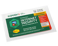 Антивирусная программа Kaspersky Internet Security 2016 2+1 ПК, продление на 1 год