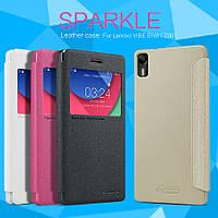Чехол (книжка) Nillkin Sparkle Series для Lenovo Vibe Shot Z90