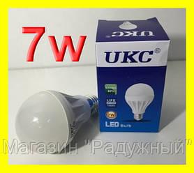 Светодиодная лампа 7W 12LED E27 Энергосберегающая