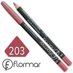 FlorMar - Карандаш для губ водостойкий Тон №203 pink rose перламутр