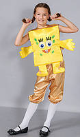 """Детский Карнавальный костюм для детей """"Спанч боб"""""""