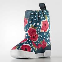 Детские зимние сапоги adidas Slip On C (АРТИКУЛ:S76120)