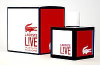 Мужская туалетная вода Lacoste Live pour Homme edt 100ml