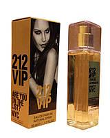 Женская парфюмированная вода Carolina Herrera 212 VIP edp - Crystal Tube 50ml