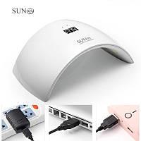 LED/UV лампа  24 Вт с дисплеем SUN 9S