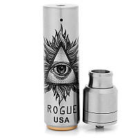 Механический мод Rogue mod kit with battle RDA 24mm