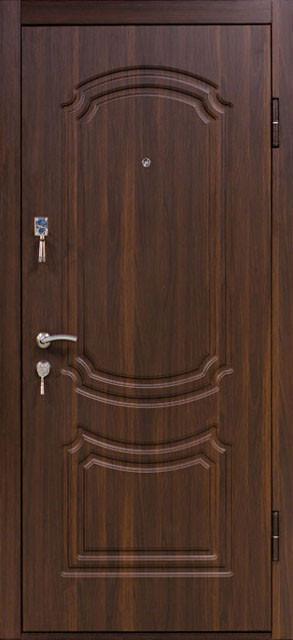 """Входная металлическая дверь """"Орех моренный"""", Престиж 801"""