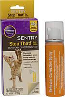 Sentry (Сентри) Stop That! For Cats Спрей отпугиватель для кошек (корректор поведения) 29 мл, фото 1