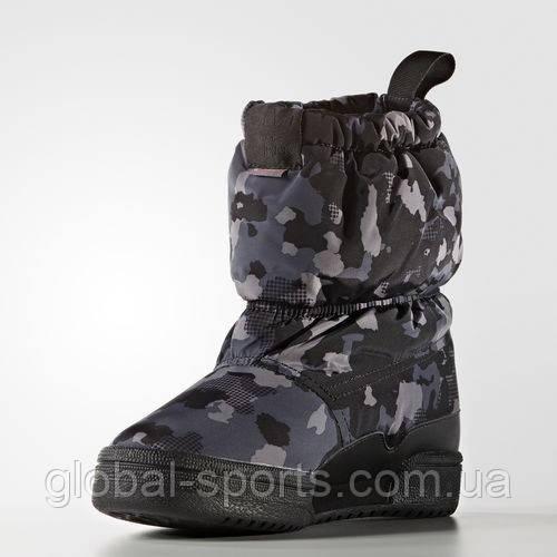d4653beb Зимние сапоги adidas Slip On C (АРТИКУЛ:S76117) - магазин Global Sport в