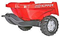 Прицеп на 2-х колесах Rolly Toys RollyKipper II красный