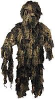 Огнестойкий маскировочный костюм MFH Ghillie Suit лесной камуфляж 07703T