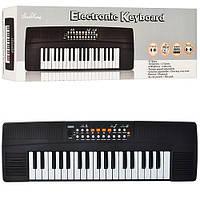 Синтезатор SK 3733  37 клавиш, 4 ритма, 3 тона, демо, запись, на батарейке, в коробке, 61,5-19-7 см