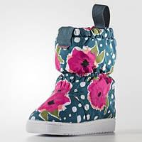 Зимние детские сапоги adidas Slip On I (АРТИКУЛ:S76124), фото 1