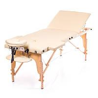 Трисекційний дерев'яний складаний стіл FLAGMAN (NEW TEC)
