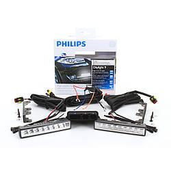 Дневные ходовые огни Philips  LED DayLight9 12831WLEDX1.