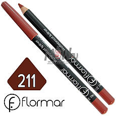 FlorMar - Карандаш для губ водостойкий Тон №211 red berry матовый, фото 2