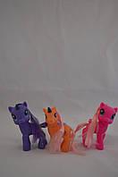 Резиновые Пони с сумочкой/ My Little Pony 3 вида (12 см)