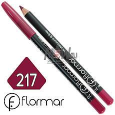 FlorMar - Карандаш для губ водостойкий Тон №217 pink plum матовый, фото 2