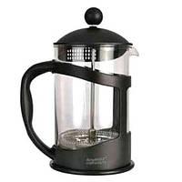 Френч-пресс для кофе/чая BergHOFF 0,8 л стеклянный в черной подставке